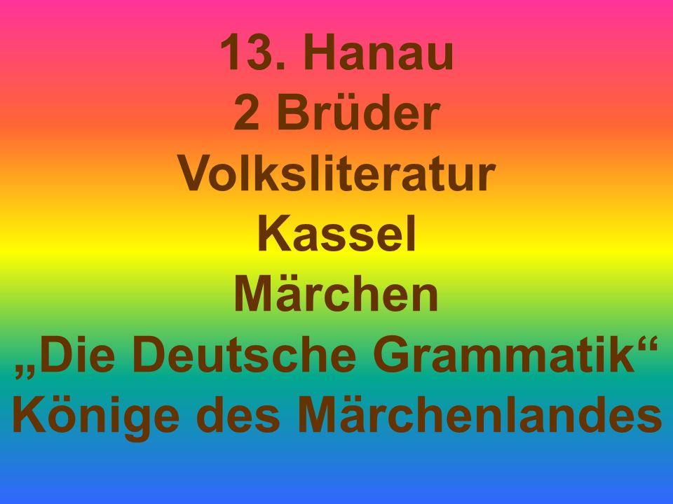 """""""Die Deutsche Grammatik Könige des Märchenlandes"""