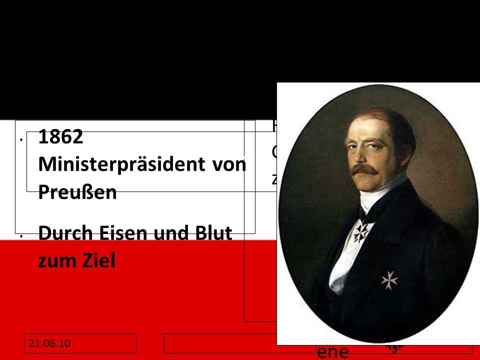 Otto von Bismarck 1815-1898 Otto von Bismarck 1815-1898