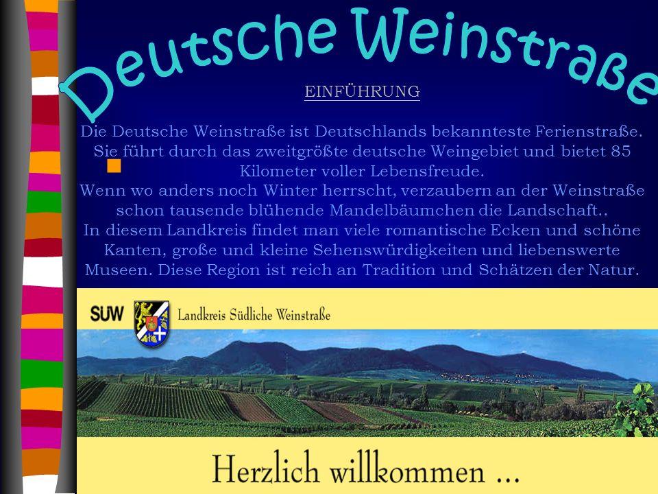 Deutsche Weinstraße EINFÜHRUNG