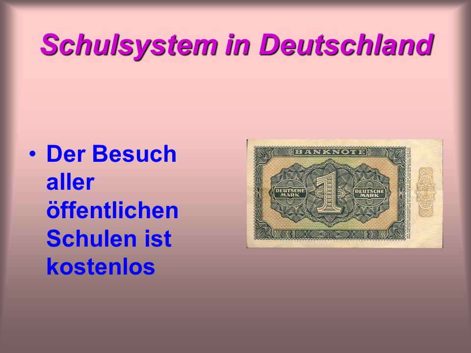 Schulsystem in Deutschland