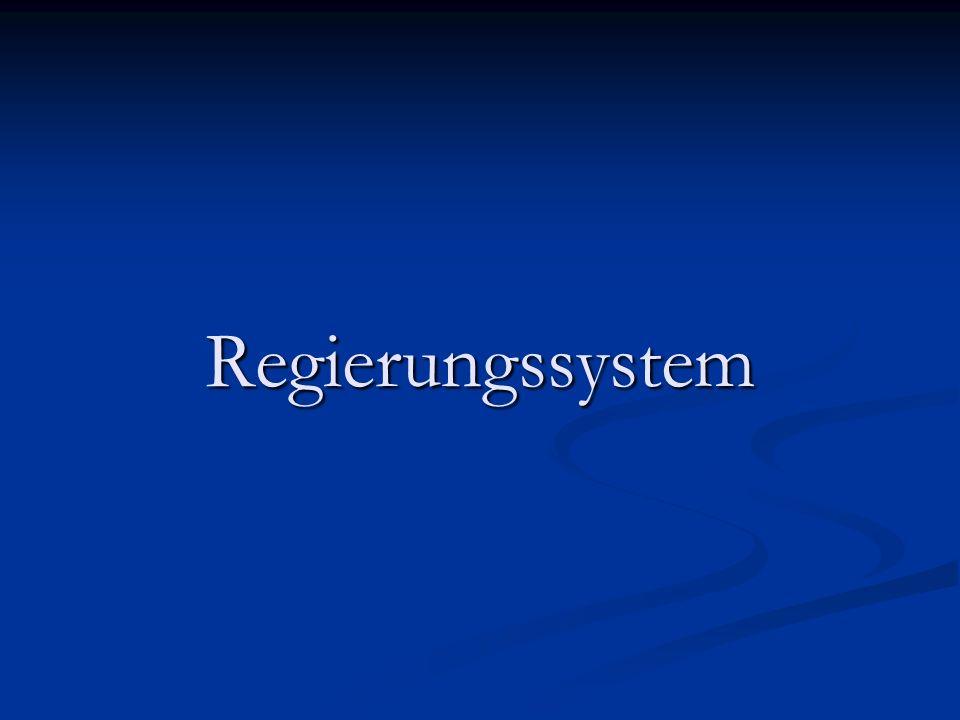 Regierungssystem