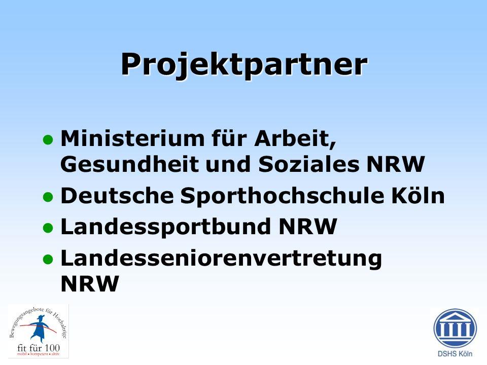 Projektpartner Ministerium für Arbeit, Gesundheit und Soziales NRW