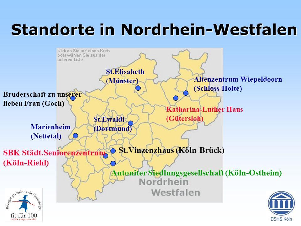 Standorte in Nordrhein-Westfalen