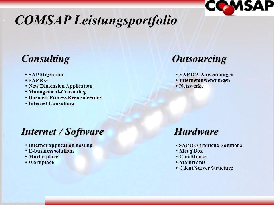 COMSAP Leistungsportfolio