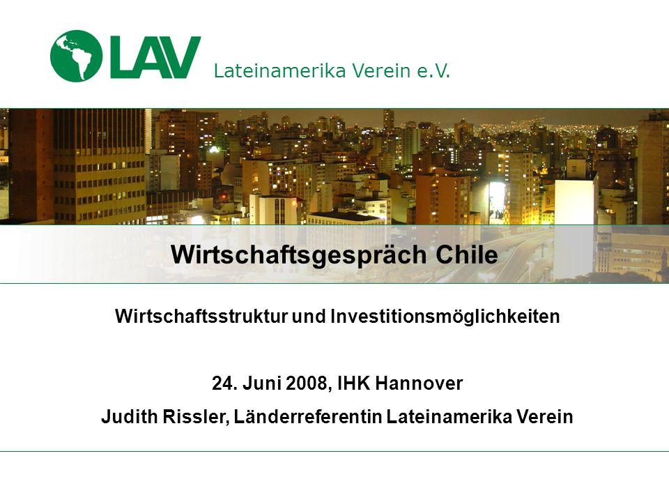 Wirtschaftsgespräch Chile