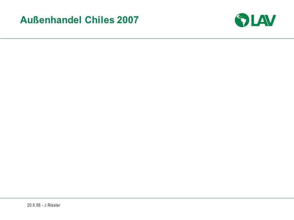 Außenhandel Chiles 2007 20.6.08 - J.Rissler