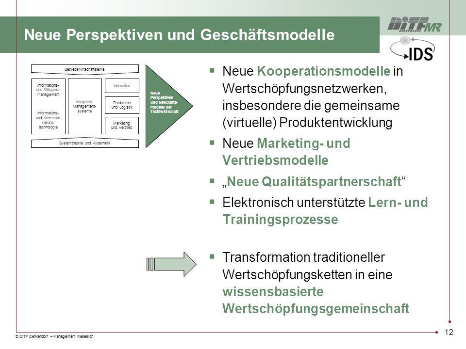 Neue Perspektiven und Geschäftsmodelle