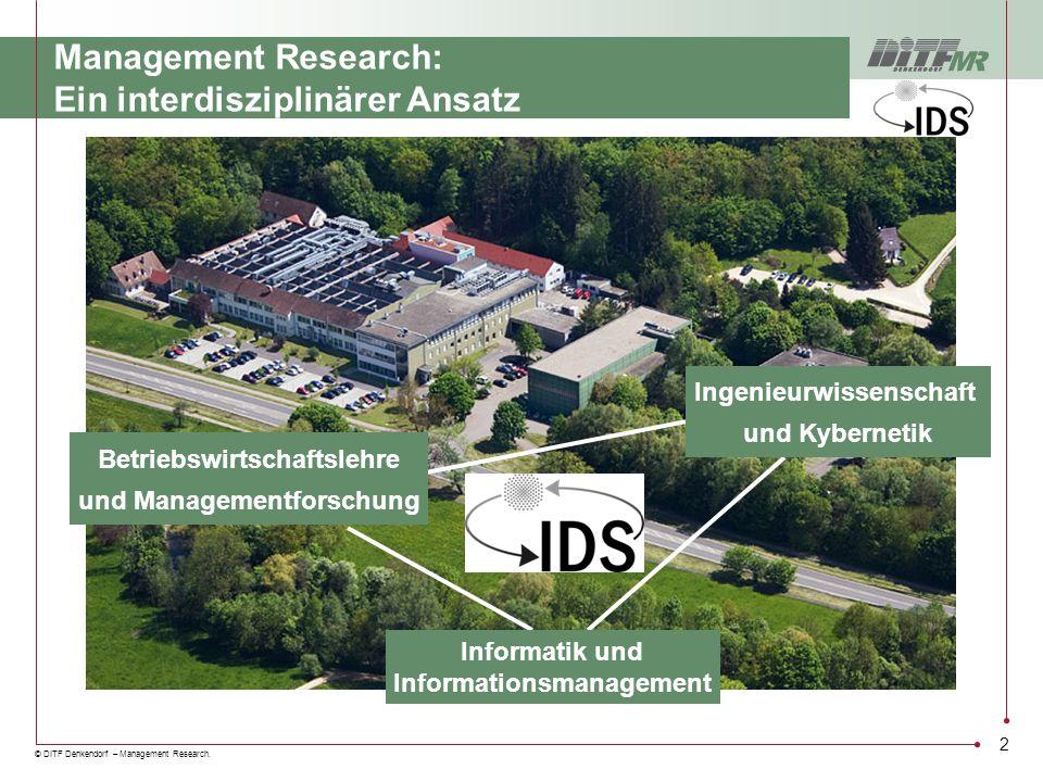 Management Research: Ein interdisziplinärer Ansatz