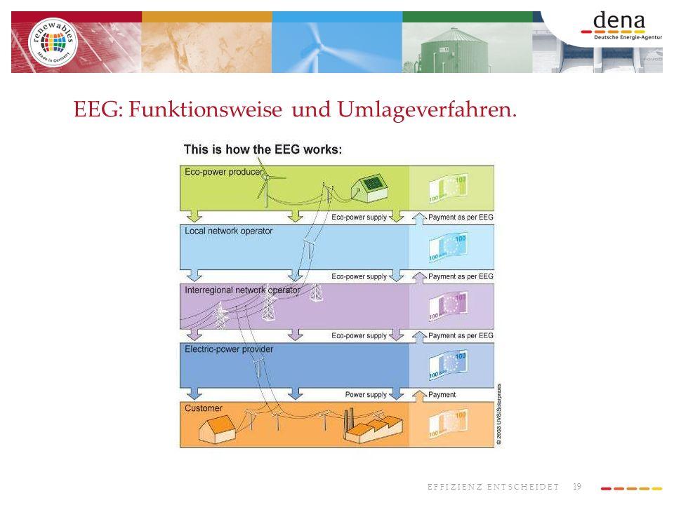 EEG: Funktionsweise und Umlageverfahren.