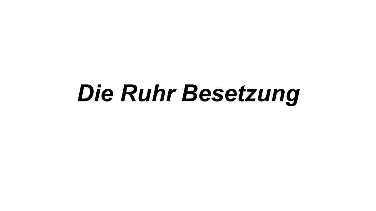 Die Ruhr Besetzung