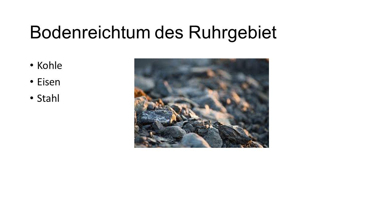 Bodenreichtum des Ruhrgebiet