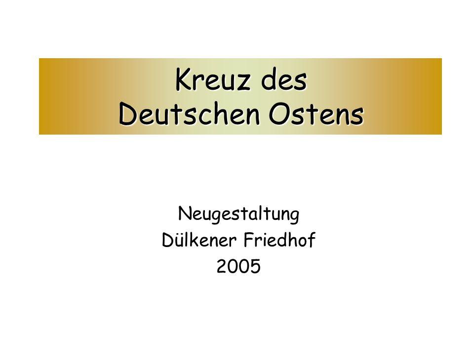 Kreuz des Deutschen Ostens