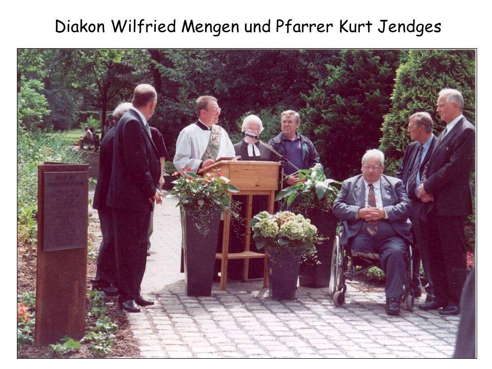 Diakon Wilfried Mengen und Pfarrer Kurt Jendges