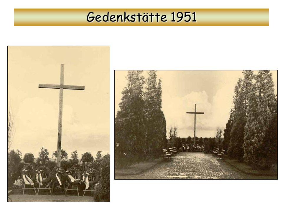 Gedenkstätte 1951