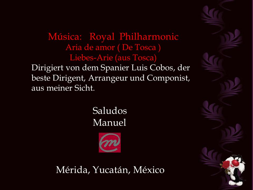 Música: Royal Philharmonic