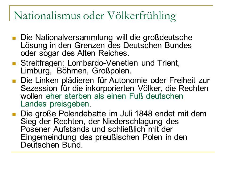 Nationalismus oder Völkerfrühling