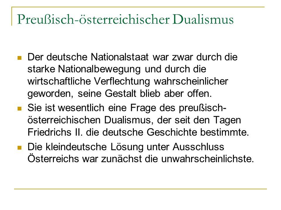 Preußisch-österreichischer Dualismus