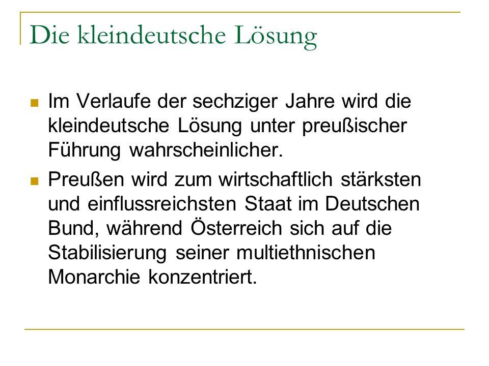 Die kleindeutsche Lösung