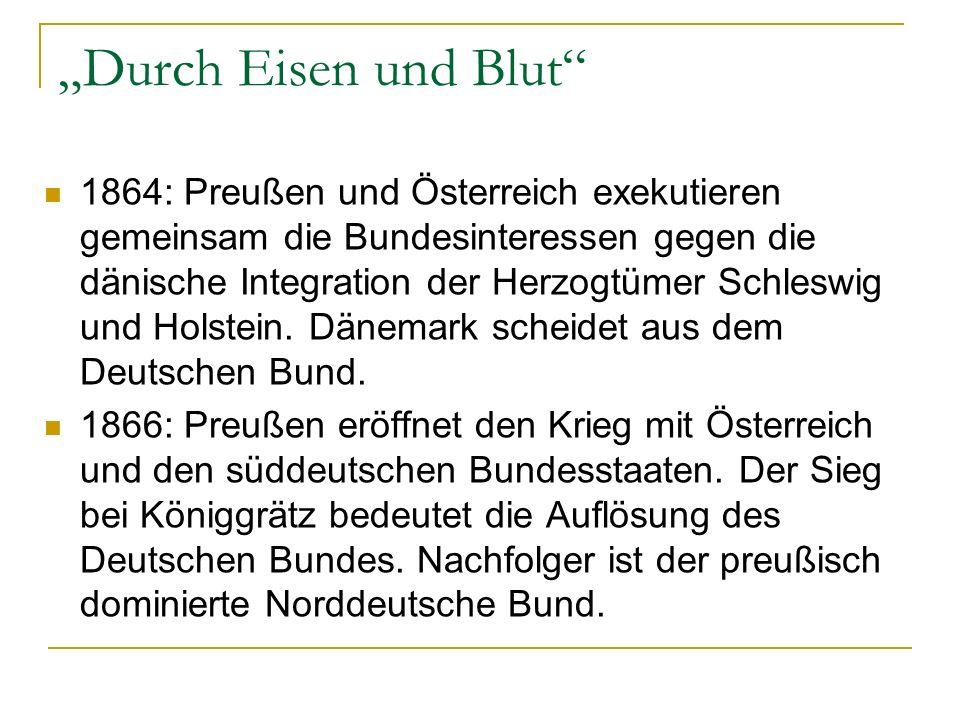 """""""Durch Eisen und Blut"""