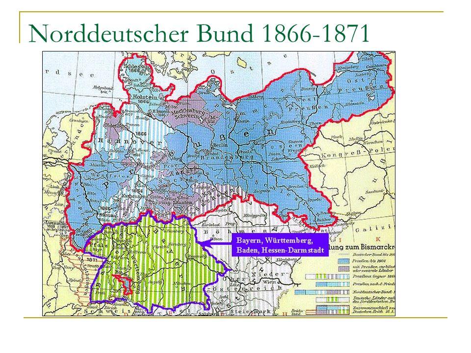 Norddeutscher Bund 1866-1871