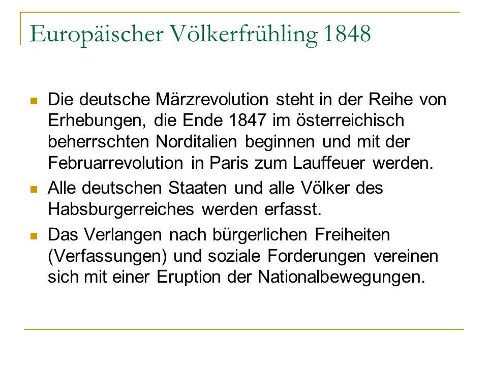 Europäischer Völkerfrühling 1848