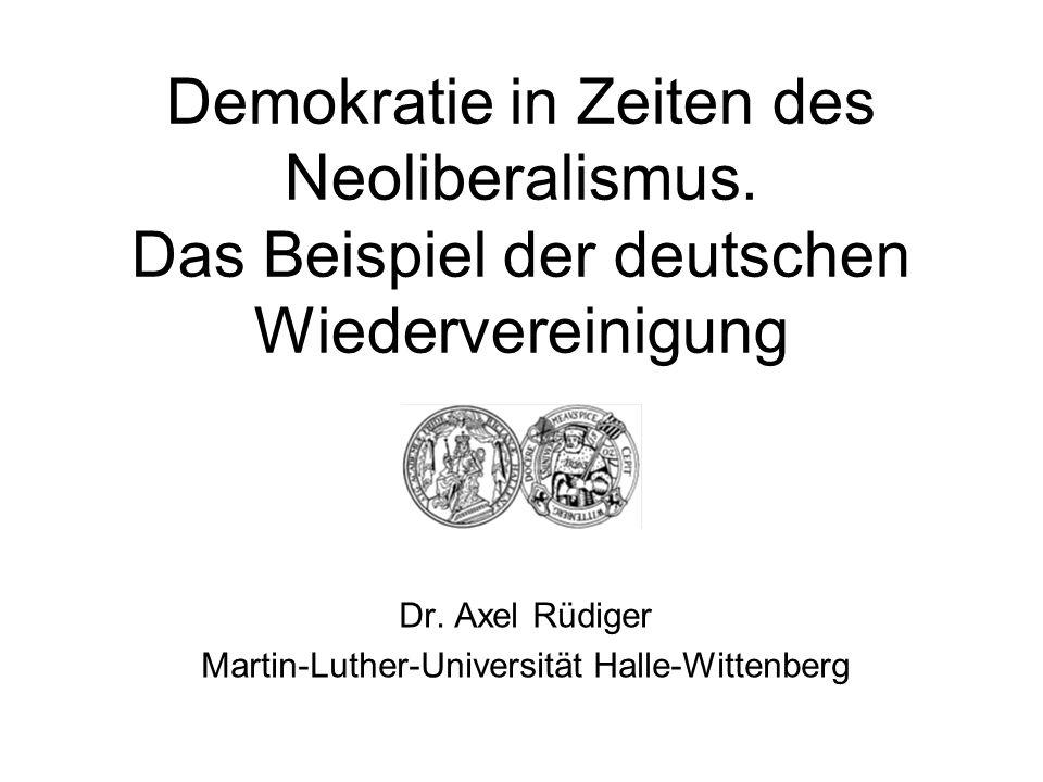Dr. Axel Rüdiger Martin-Luther-Universität Halle-Wittenberg
