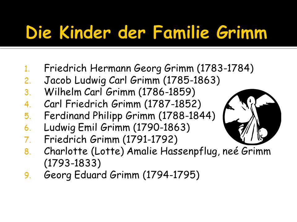 Die Kinder der Familie Grimm
