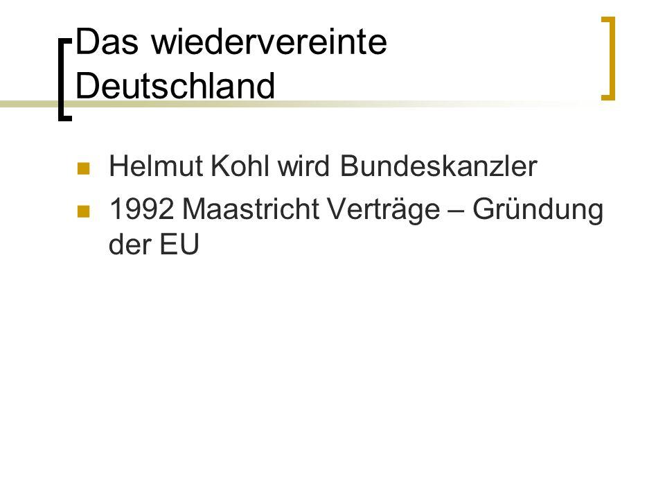 Das wiedervereinte Deutschland