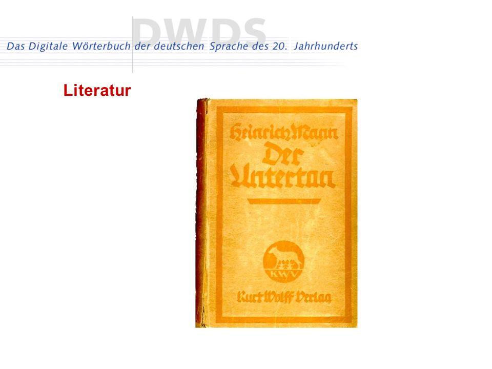 Literatur über 300 Monographien