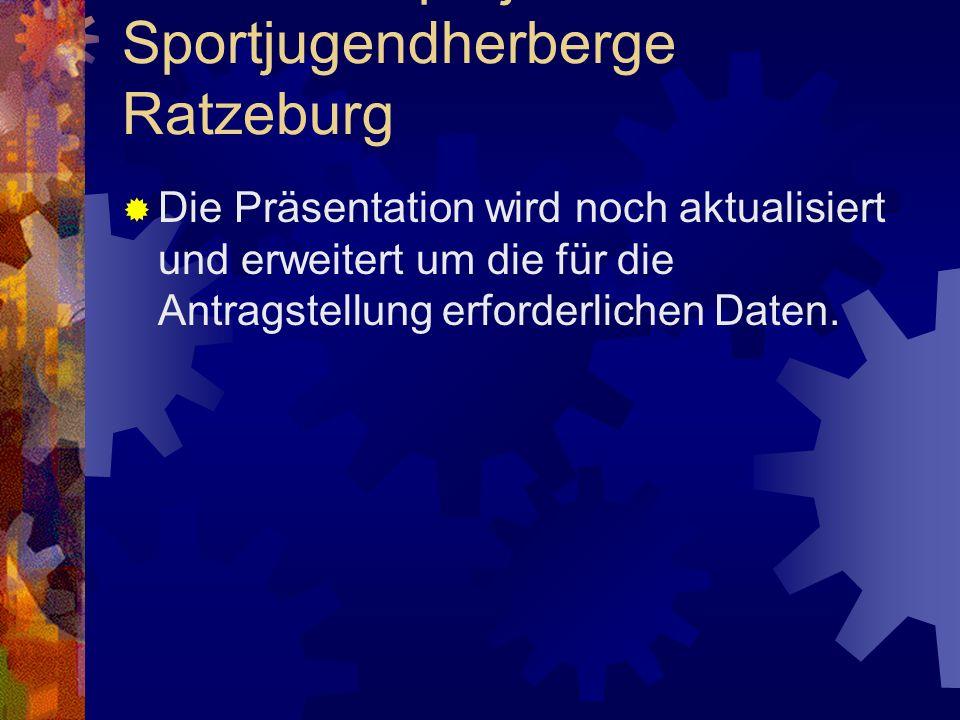 Leuchtturmprojekt Sportjugendherberge Ratzeburg