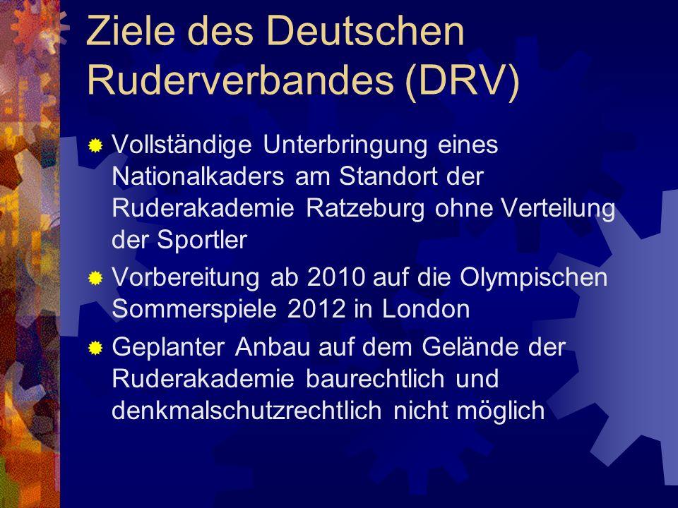 Ziele des Deutschen Ruderverbandes (DRV)