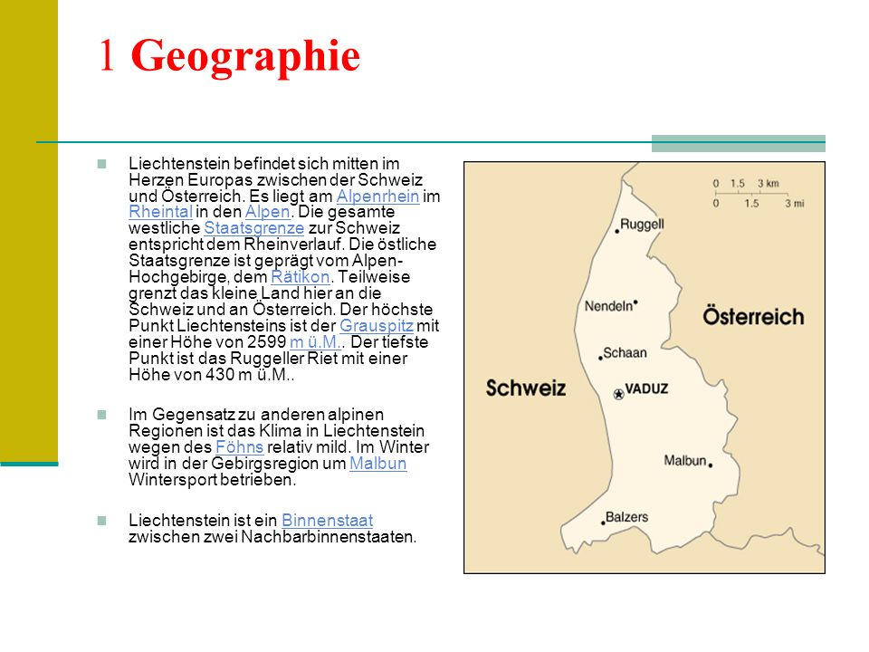 1 Geographie