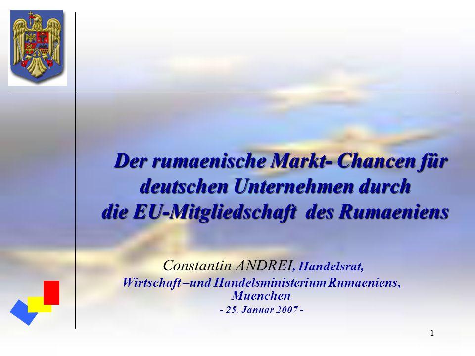 Wirtschaft –und Handelsministerium Rumaeniens, Muenchen