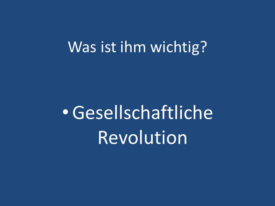 Gesellschaftliche Revolution