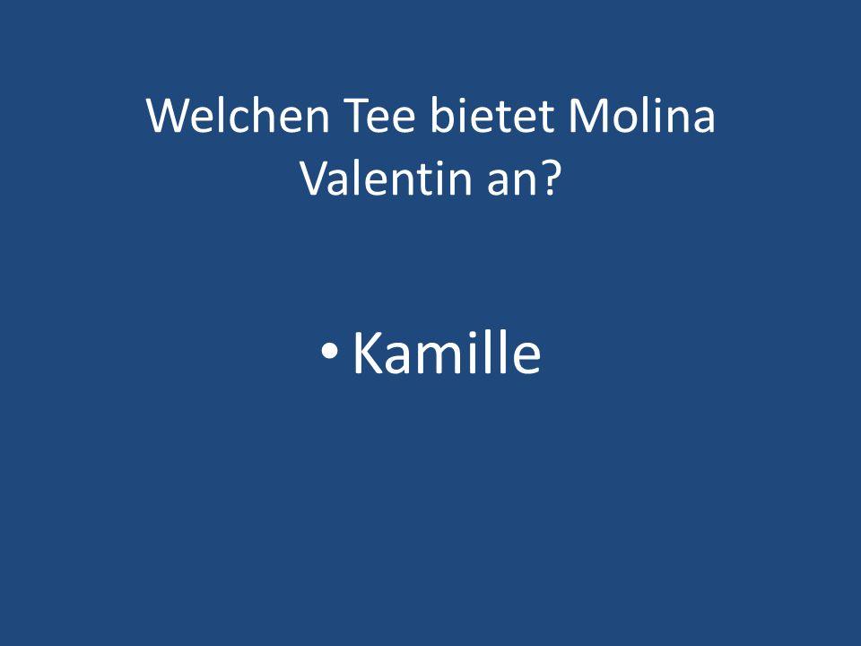 Welchen Tee bietet Molina Valentin an