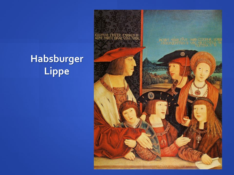 Habsburger Lippe