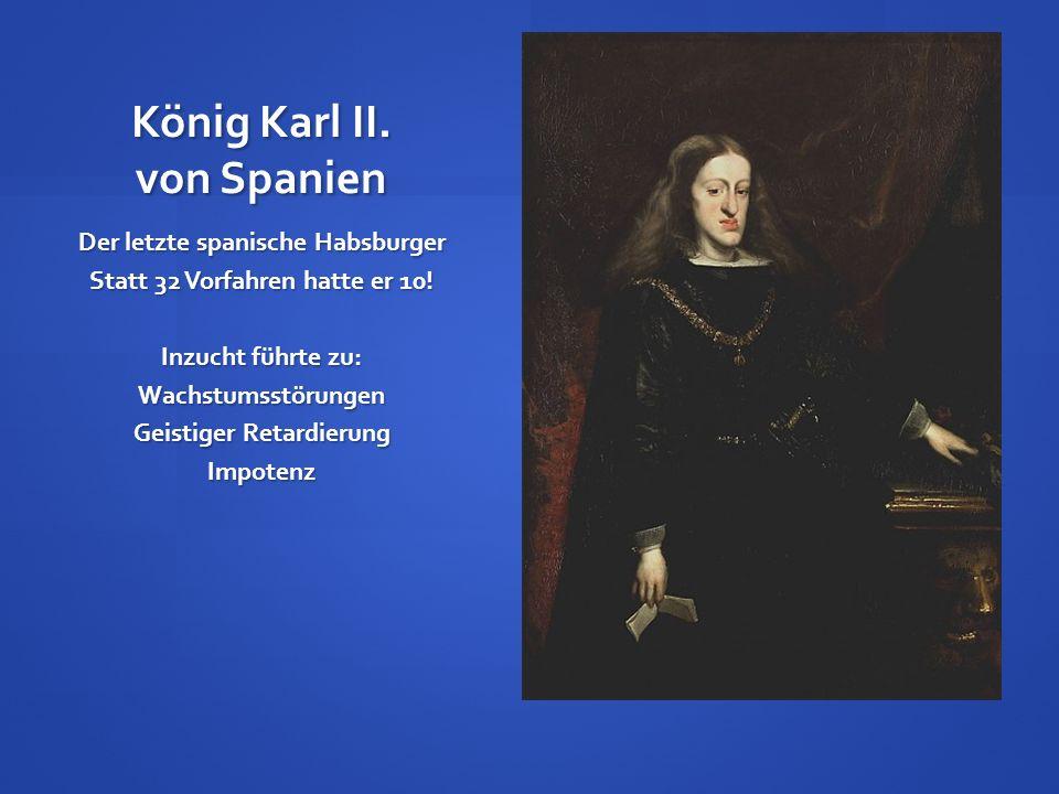 König Karl II. von Spanien
