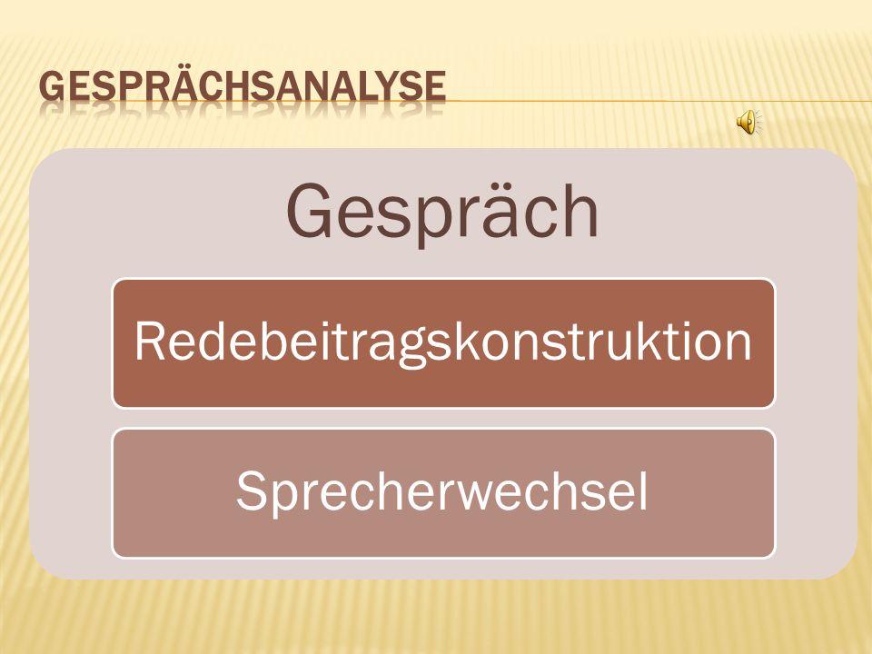 Redebeitragskonstruktion