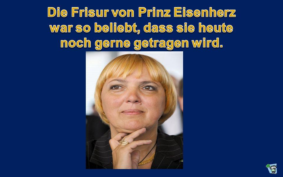Die Frisur von Prinz Eisenherz war so beliebt, dass sie heute