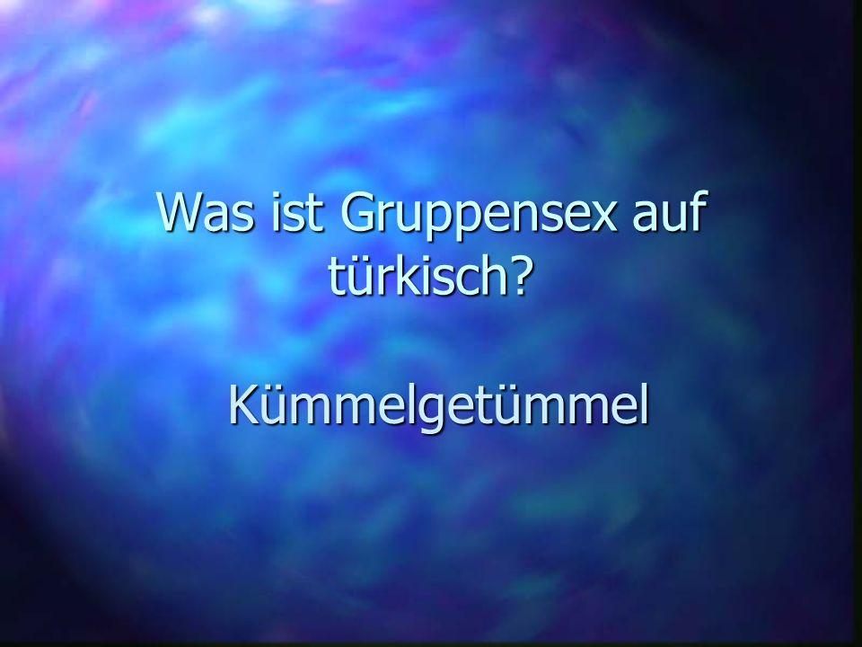 Was ist Gruppensex auf türkisch