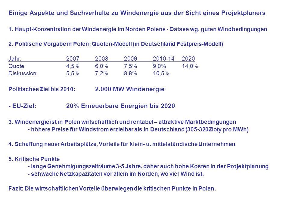 - EU-Ziel: 20% Erneuerbare Energien bis 2020