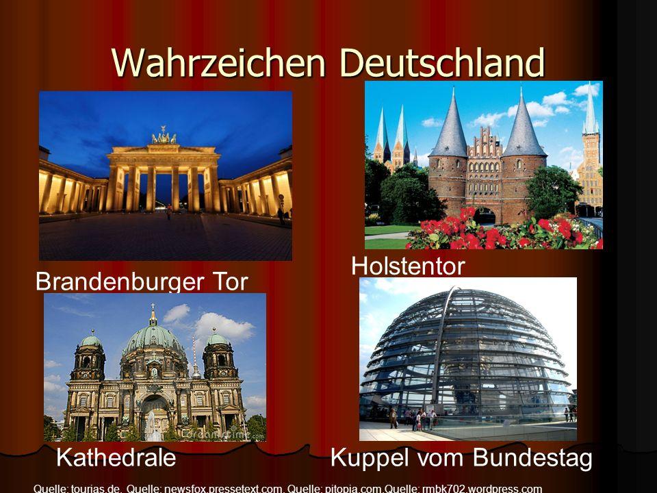 Wahrzeichen Deutschland