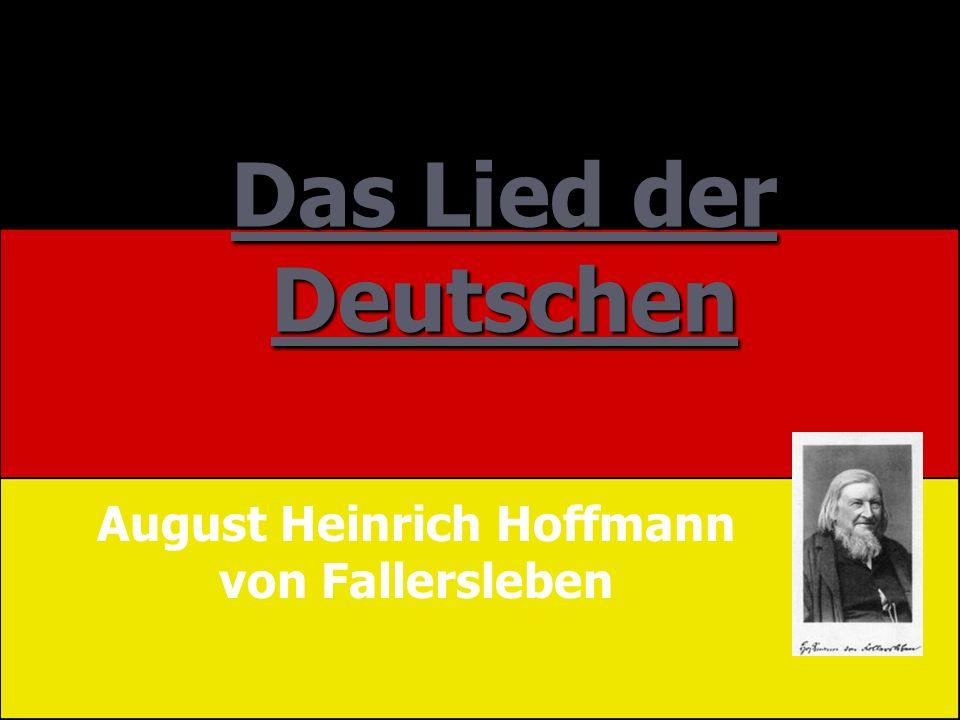 August Heinrich Hoffmann von Fallersleben