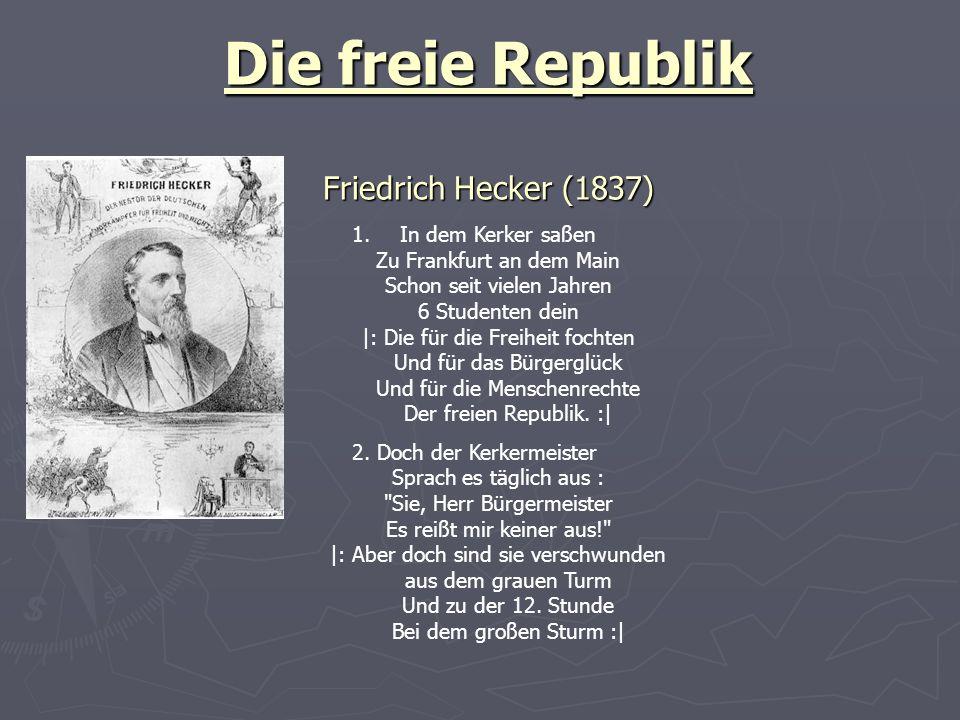 Die freie Republik Friedrich Hecker (1837)