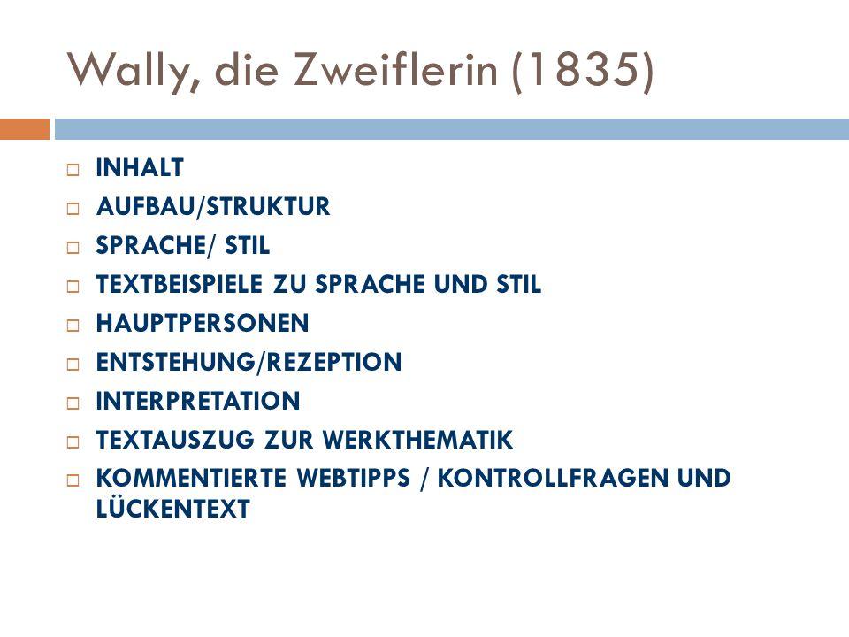 Wally, die Zweiflerin (1835)