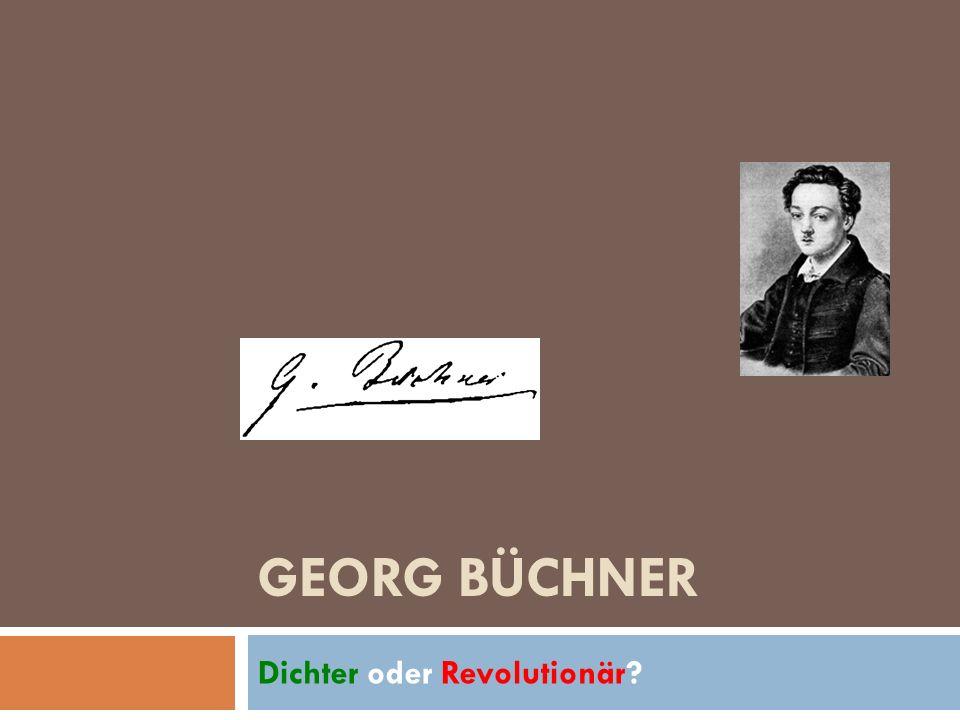 Dichter oder Revolutionär