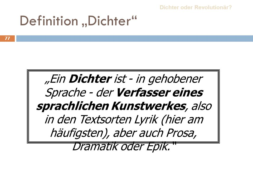 "Leben Werke Kontext ""Dantons Tod Dichter oder Revolutionär"