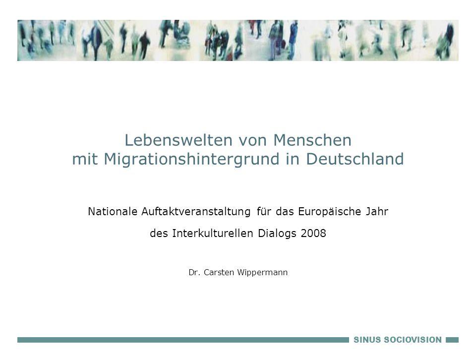 Lebenswelten von Menschen mit Migrationshintergrund in Deutschland