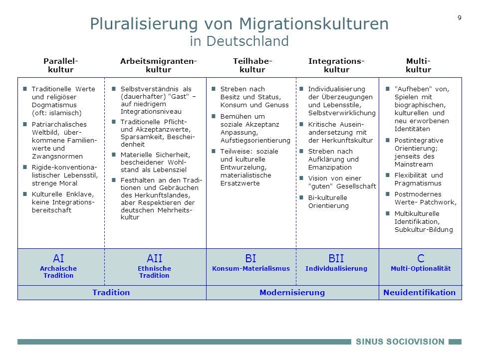 Pluralisierung von Migrationskulturen in Deutschland