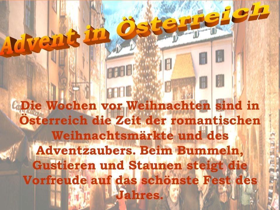 Advent in Österreich